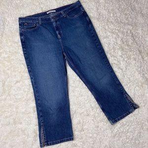 Vintage Tommy Hilfiger Denim Jeans Capri Crop